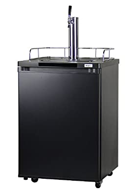 Kegco K209B-1 Full-Size Kegerator Keg Cooler Beer Dispenser