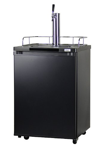 Kegco K209B-1 Full-Size Kegerator Keg Cooler Beer Dispenser
