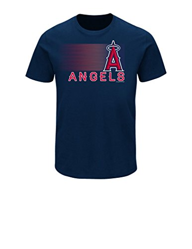 Mlb ,Los Angeles Angels Of Anaheim, Mens, Angels Notable Splurge, Tee, Color Navy ,Measurement X-Giant,X-Giant,Navy – DiZiSports Store