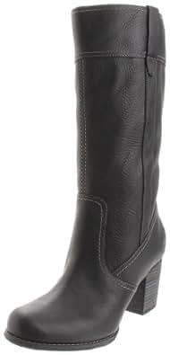 Timberland Women's Rudston Pull-On Boot,Black,10 M US