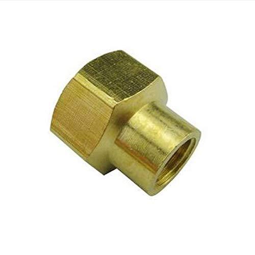 Maslin Brass Reducer Connector Hex Head 1/4