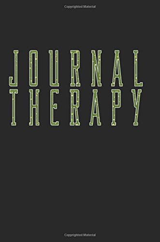 Journal Therapy: 6 x 9, 108 Lined Pages (diary, notebook, journal)