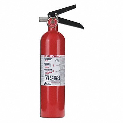 Kidde Fire Extinguisher Dry Chemical 1A 10B C