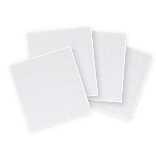 6 inch Square Clear Fusible Glass COE 90-4 Pack ON SALE