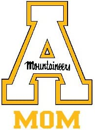 Appalachian State Mountaineers Clear Sticker