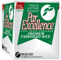Rice Parboiled Cube 25 Pound by Producers Rice