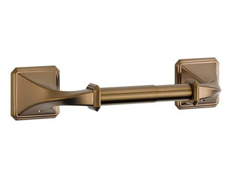 Brizo Tissue Holder (Brizo 695030 Toilet Tissue Paper Holder from the Virage Collection, Brilliance Brushed Bronze)