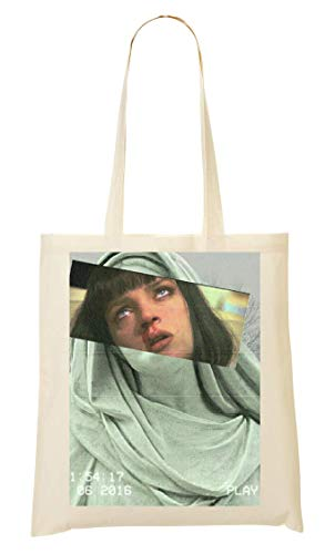 Sacchetto Aesthetic Fiction Di Bakoisland Artwork Pulp Bag Tote FdIqf7wf
