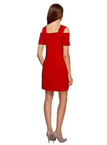 4500n oodji paules Rouge Dnudes Ultra Coupe Robe Femme Cintre avec rWzpHwTqr