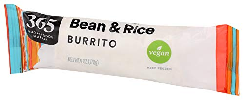 365 by Whole Foods Market, Frozen Burrito, Bean & Rice, 6 Ounce 2