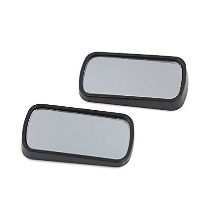 DealMux 2pcs Retângulo auto-adesivo em forma de carro Blind Spot auxiliar Espelho Retrovisor
