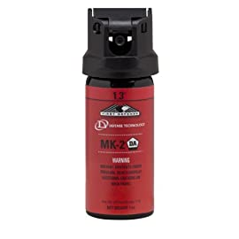 DEFENSE TECHNOLOGY First Defense OC Foam MK-2 1.3% Solution Red Band Pepper Spray (1.0-Ounce) 2 Formula: 1.3% has replaced the 5.5% Pepper Mace formulation. 1.3% Major Capsaicinoid represents a nonflammable EDW safe formulation with is significantly more intense than previous formulations. Propellant: 134a Range: 10-12 feet