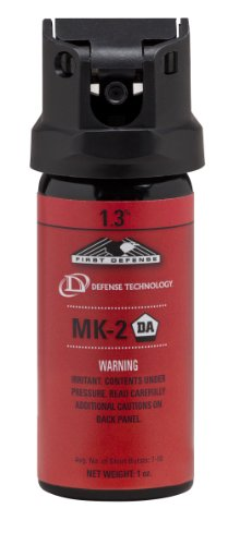 Defense Technology First Defense Oc Foam Mk 2 1 3  Solution Red Band Pepper Spray  1 0 Ounce