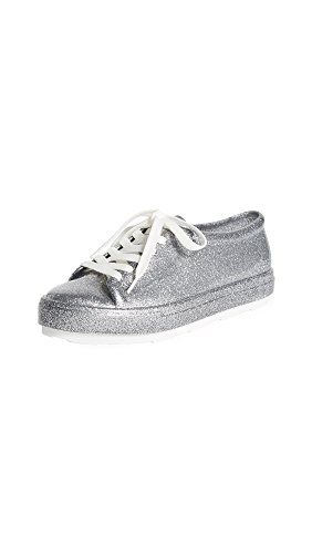 Be Silver Women's Sneakers Bright Glitter Melissa H8B6wzqBn