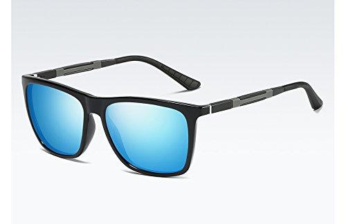 de Alta Gafas polarizadas Gafas Calidad Nocturna de blue Sol Visión de Negro Sol Nuevas Mujeres de Unisex Gafas Hombres TL Deportes Gafas black de Masculinas UV400 Sunglasses qIXw0P