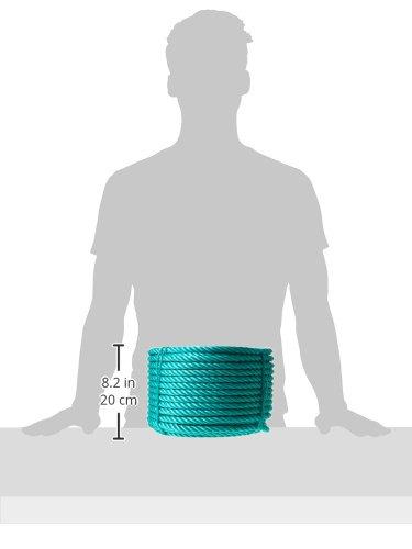 50 m, alta resistencia, di/ámetro: 14 mm Provence Outillage 3875 Cuerda de polipropileno