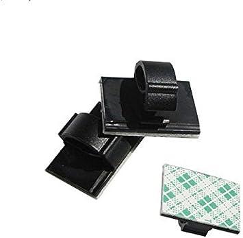 Mini Selbstklebend Auto Draht Clips Rechteck Krawatte Sticker Kabel Cord Halter