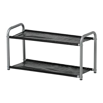 Ikea Lustifik Hatshoe Rack Silver Colourblack 60 Cm By Ikea