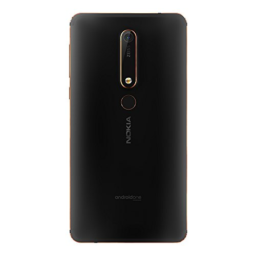 Nokia 6.1 (Nokia 6 2018) TA-1068 64GB Black/Copper, Dual Sim, 5.5″, 4RAM, GSM Unlocked International Model, No Warranty