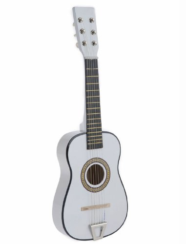 Star Kids Acoustic Toy Guitar 23 Inches Color White, MG50-WH by Star