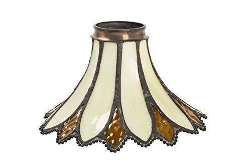 Lampadari E Plafoniere Tiffany : Paralume vetro di ricambio tiffany per lampade e lampadari in