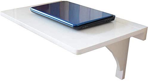 GBX Plegable montado en la pared portatil plegable portatil de la tabla del escritorio, blanca del vector de alas abatibles, la pared de bambu que cuelgan de mesa, cocina/comedor/Ninos/Equipo d