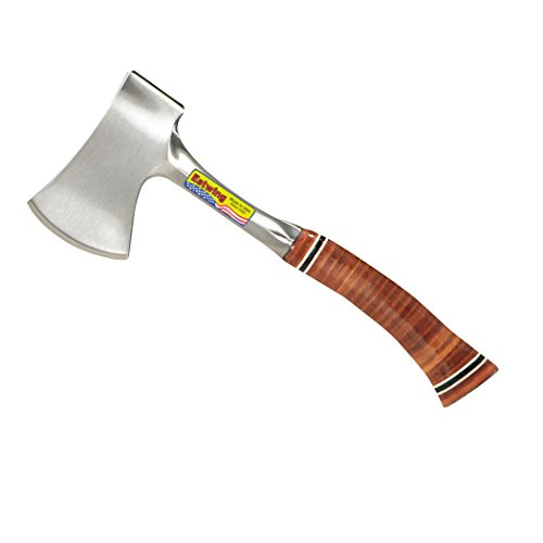 Estwing E14A 12-Inch Sportsman's Axe with Leather Grip & Sheath (Trade Axe)
