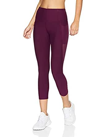 Lorna Jane Women's Move Freely Core 7/8 Tight, Deep Mulberry, XXS