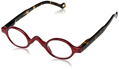 Peepers Unisex-Adult The Rogue 2369275 Round Reading Glasses, Red/tortoise, - Amazon Glasses Round Reading