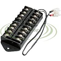 DSC-TB01, 8 Way Terminal Block Bus Bar,Splits 1 Input to 8 Out