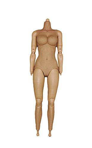 [1/6 Scale Costume Female Body for Action Figure Player Collector Modeler] (Female Action Figure Costumes)