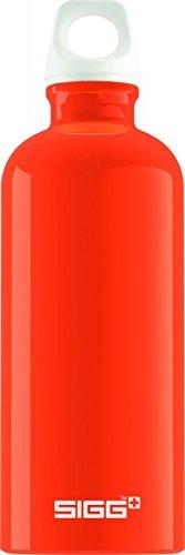 Sigg Fabulous Water Bottle, 0.6L, Pack of 6 (Orange)
