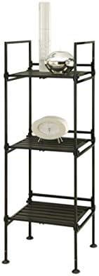 Neu Home Storage Shelf, 5-Tier Square, Espresso