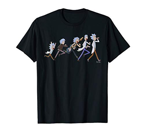 The Life Of Rick - Rick and Morty T-Shirt (Swim Tee Shirts Adult)
