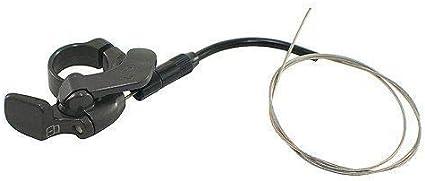 VK1558 SR SUNTOUR Epixon Fork 27.5Inches 120mm Remote Lockout Air QR 9mm Glossy Black