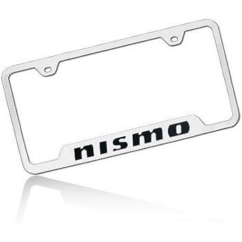 Amazon Com Nissan 350z Polished Steel License Frame Automotive