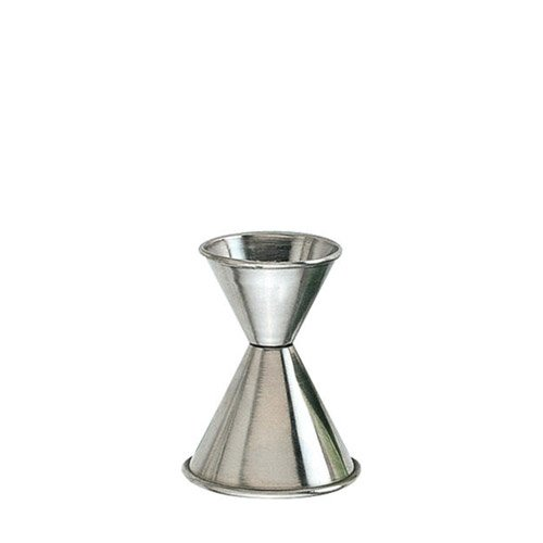 Stainless Steel Jigger 1 oz. X 1 1/2 oz. (J-204AM) Category: Bar Jiggers by American Metalcraft by American Metalcraft