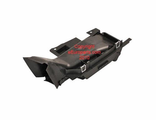 BMW e46 Brake cooling Air Duct RIGHT bumper OEM rotor cooler channel guide