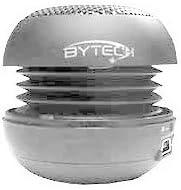 Bytech Mini Portable Sepaker in Silver BT-OTG-SLVR