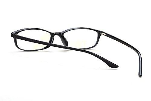 Morefaz Ltd Uv Reflex Glasses Mfaz Anti Glare Computer Claire Lumière Bleue Tv 8041 Hommes De Pour Radia Femmes Filtre Lunettes Black Gaming Lentille pqxaH6A