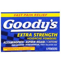 Goodys Extra Strength Headache Powder - Goody's Pain Reliever Extra Strength Headache Powders, 50 Each (Pack of 3)