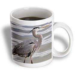 3dRose Great Blue Heron Mug, 11-Ounce - Pictures Great Blue Herons
