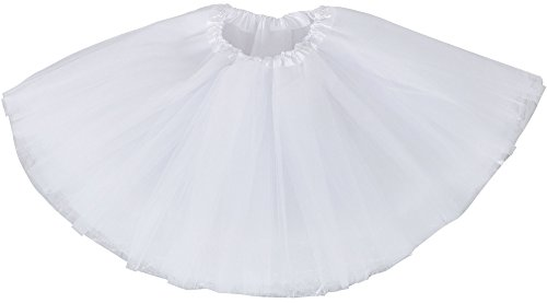 Simplicity Girls Birthday Tutu Skirt Ballet Dance Tutu Dress for 2-8 -