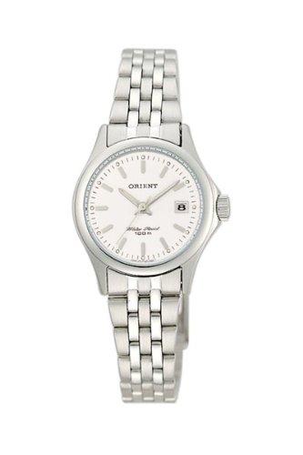 Orient CSZ2F001W - Reloj para mujeres, correa de acero inoxidable