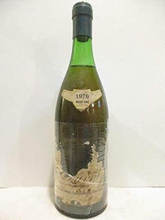 vouvray gérard faucheux hardoin demi-sec (étiquette très abîmée) moelleux 1976 - loire - touraine