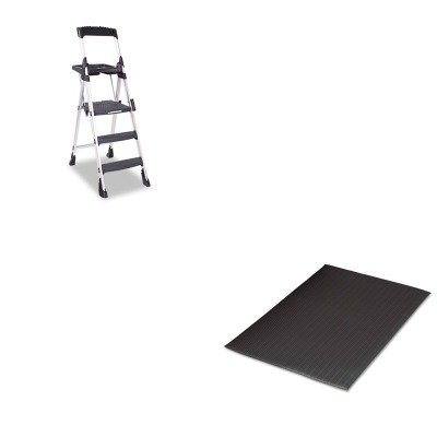 KITCSC11003ABL1MLL24020302 - Value Kit - Cosco Worlds Greatest Work Platform (CSC11003ABL1) and Guardian Air Step Antifatigue Mat (MLL24020302) by Cosco