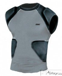 Bike multi sport compression shirt with integrated pads BARS70 NEW Adult L