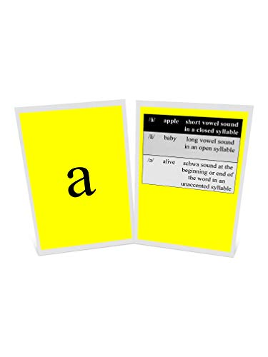 PDX Reading Specialist Basic Phonogram Card ()