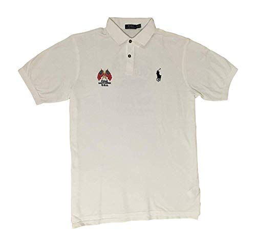 Polo Ralph Lauren Men's Big & Tall Crossed-Flags USA Polo Shirt (2X-Big) ()