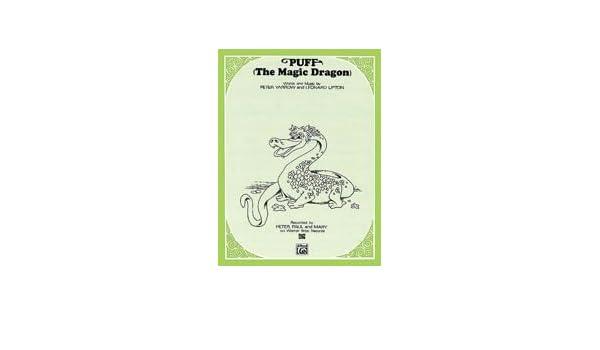 Amazon.com: Puff The Magic Dragon - Sheet Music (Peter, Paul & Mary ...
